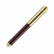 Stylo plume Contract classic Larch Fumed Brass
