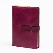 Refillable buckle notebook 7x10cm