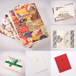 ROSSI and LEJEUSNE stationery